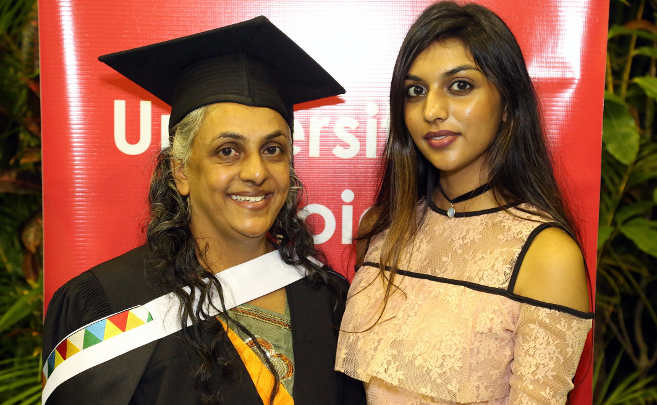 Mother-Daughter Duo Graduate