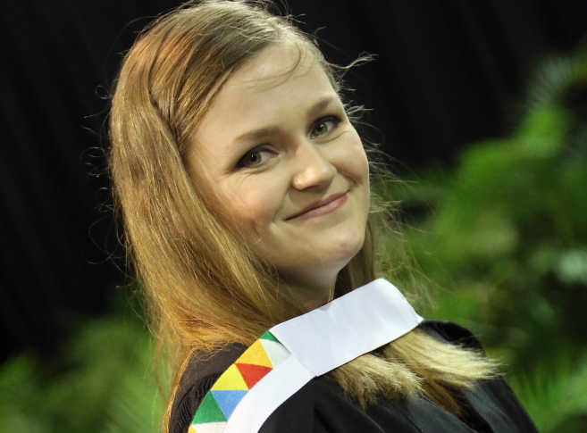 Top Student Scoops Susan M Swart Award
