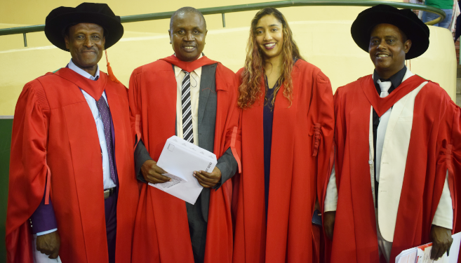 Four Ethiopian Students Achieve Doctorates all Related to Sport